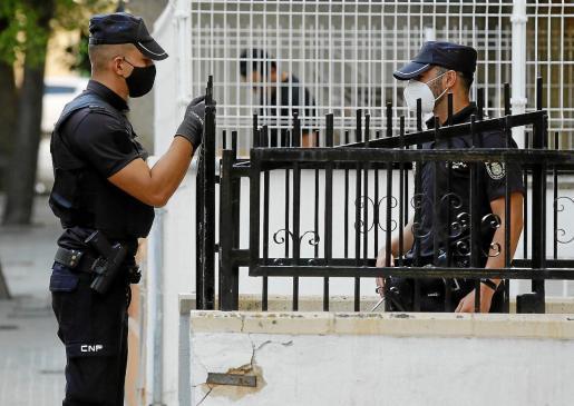 El arresto fue practicado por agentes de la Policía Nacional