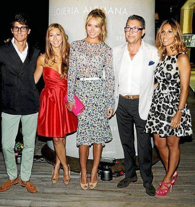 Pablo Fuster, Blanca Fuster, Patricia Conde, Pablo Fuster y Paula Fuster.