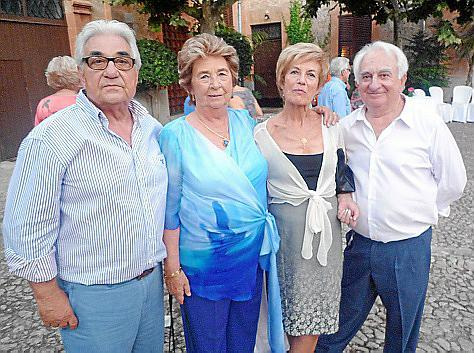 Alonso Comas, Laura Orteu, Antonio Vallori y Juan Mut.
