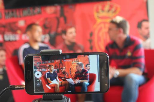 Imagen de Juan Diego Molina 'Stoichkov' durante una entrevista concedida a Ultima Hora.