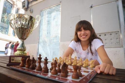 La joven ajedrecista Cristina Sureda.