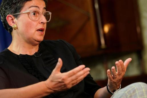 La ministra Arancha González Laya.