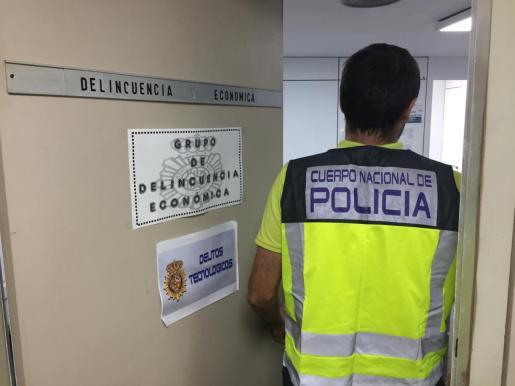 el Grupo de Delincuencia Económica de la Policía se hizo cargo de la investigación.
