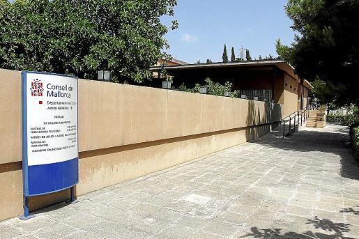 Sede del Arxiu General del Consell de Mallorca, en el Polígon de Llevant. FOTO: M. À. CAÑELLAS