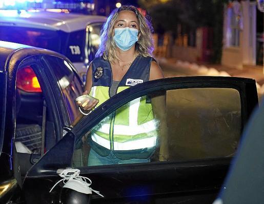 El arresto fue practicado por agentes del Cuerpo Nacional de Policía de la comisaría de la Platja de Palma.
