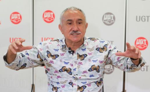 El secretario general de UGT, Pepe Álvarez, en una reciente imagen.