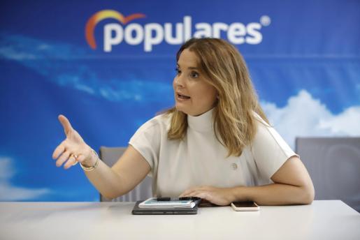 Imagen de la diputada del Partido Popular por Baleares en el Congreso.