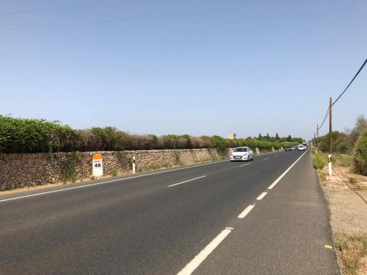 El accidente ha tenido lugar en el kilómetro 48 de la MA-19.