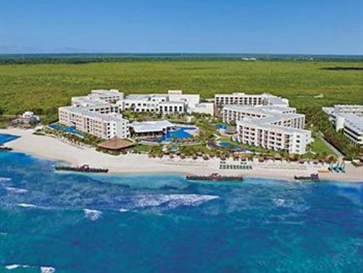 El hotel, de cinco estrellas, cuenta con 433 habitaciones y está en Puerto Morelos.