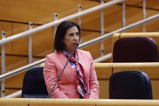 La ministra de Defensa, Margarita Robles, en una imagen de archivo.