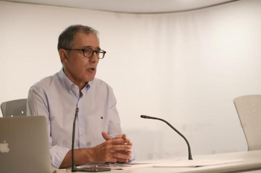 El portavoz del comité autonómico de enfermedades infecciosas, Javier Arranz.