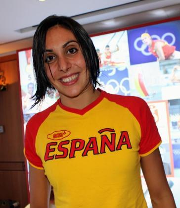 La nadadora Marga Crespí.