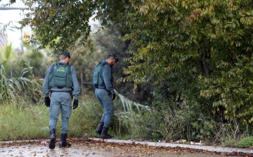 Agentes de la Guardia Civil procedieron a la detención del joven.