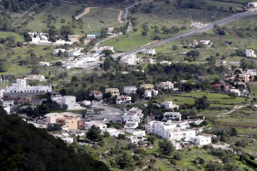 Vista general del municipio de Sant Josep.