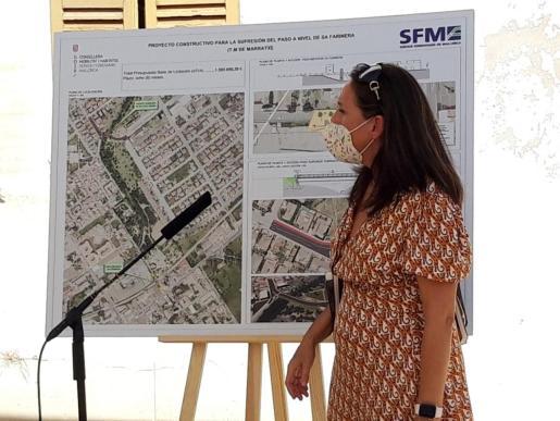 La directora de obras de SFM explica el proyecto.