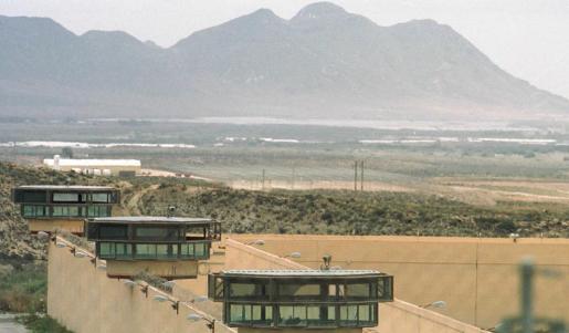 Imagen del centro penitenciario ElAcebuche, en Almería. Andalucía es la comunidad con mayor población reclusa de España.