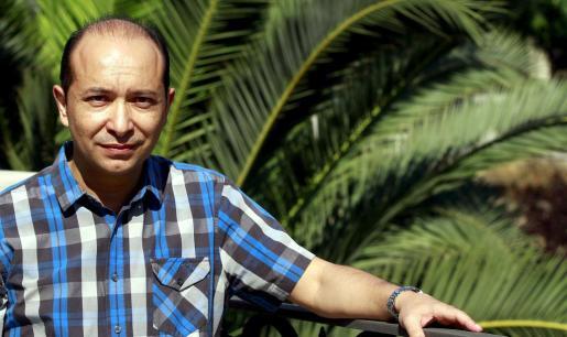 Juan Giménez, exdirector de la Banda Municipal de Música de Palma, posó para este periódico en Ciutat.