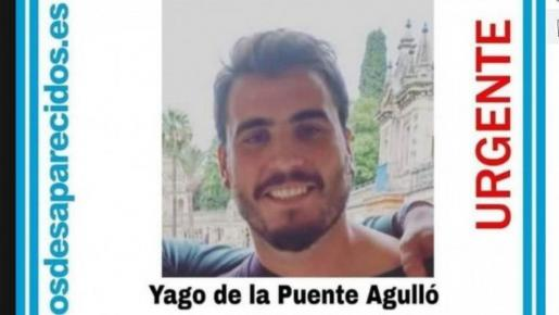 Yago de la Puente, de 28 años, desapareció tras acudir al festival de música de Ortigueira en julio de 2019.