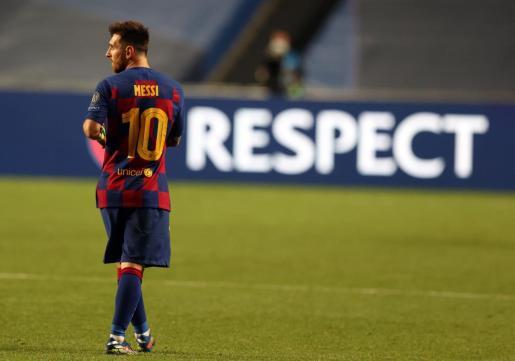 Imagen de archivo de Messi.