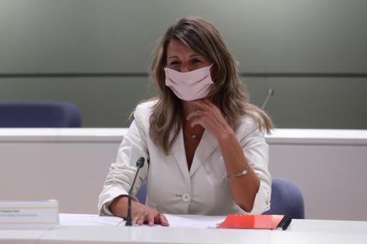 La ministra de Trabajo, Yolanda Díaz, estará este jueves en Palma.