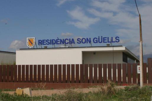 Imagen de la fachada de la residencia, ubicada en Palma.