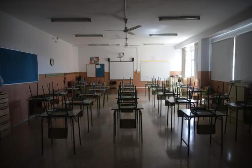Imagen del colegio Marià Aguiló de Palma.