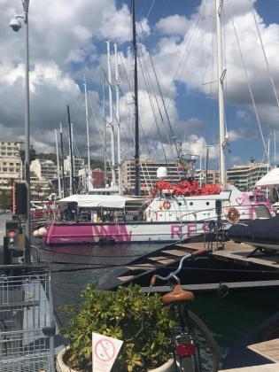 La embarcación permanece amarrada al puerto de Palma, donde está controlada por efectivos de la Guardia Civil y personal de Aduanas.