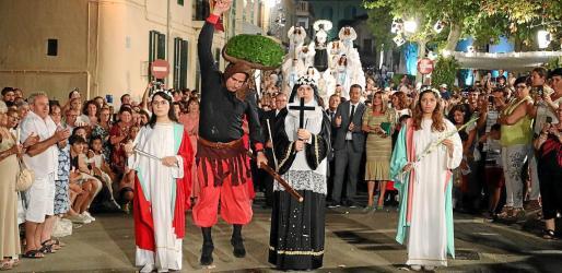 La procesión de la Beata es una cita multitudinaria que se celebra cada año el primer domingo de septiembre.