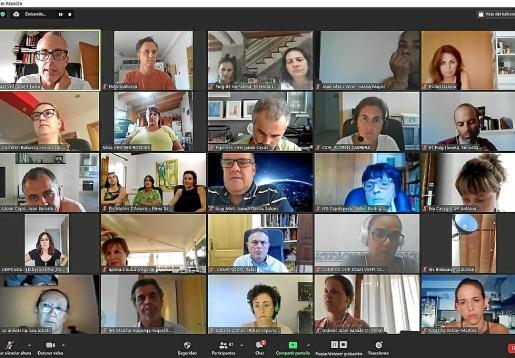 La asamblea extraordinaria de FAPA Mallorca se celebró por videoconferencia.