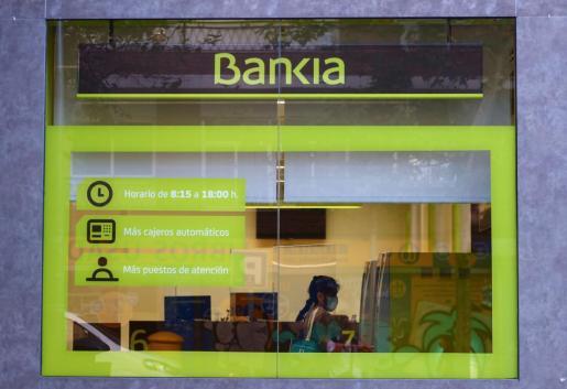 Imagen de una oficina de Bankia.
