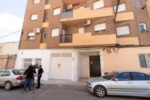 Edificio de la calle secano de Calasparra, (Murcia), donde ha ocurrido el suceso.