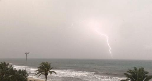 Las últimas DANA dejaron fuertes lluvias y tormentas en amplias zonas de Baleares.