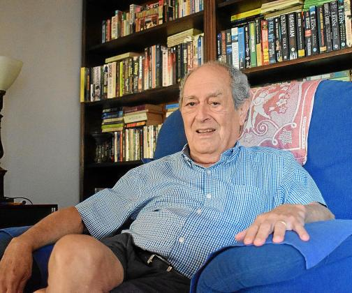 El poeta y médico argentino, Osías Stutman, en una imagen reciente en Manacor.