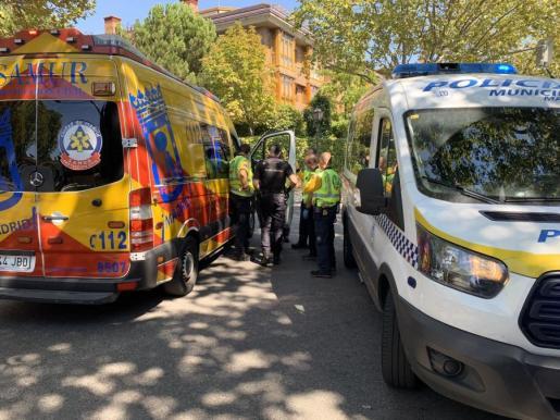 Los agentes de la Policía Nacional se han hecho cargo de la investigación.
