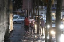 Jornada de lluvia en Baleares
