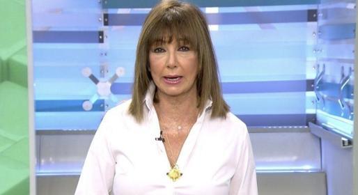 Ana Rosa Quintana con su cambio de 'look'.