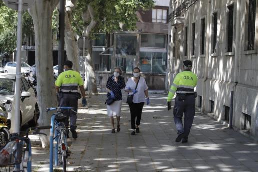Falta de acuerdo sobre los servicios mínimos para los paros de los trabajadores que supervisan el aparcamiento regulado en Palma.