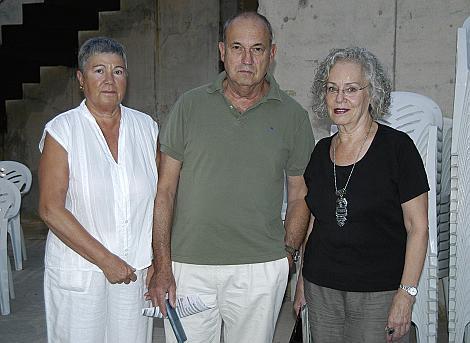 Maria Tous, Carles Marieges y Maite Jerez también disfrutaron del concierto.