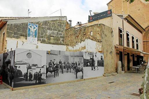 La rehabilitación de la Peixateria se paralizó al encontrarse restos arqueológicos.