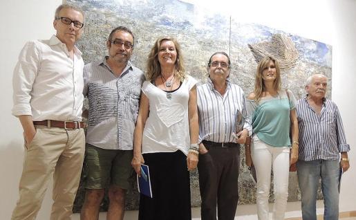 Luis Maraver, Toni de la Mata, Miquela Vidal, Tolo Albertí, Cati Munar y Joan Cunill.