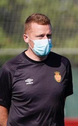 Julián Robles, entrenador del Mallorca B
