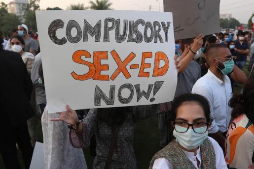 En Pakistán se han registrado varias movilizaciones después del suceso.