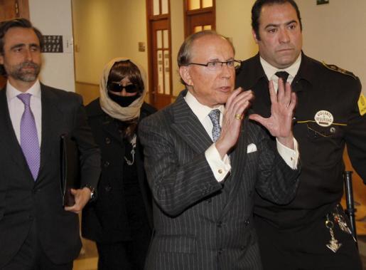 Ruiz Mateos, el pasado mes de marzo en los juzgados de Palma.