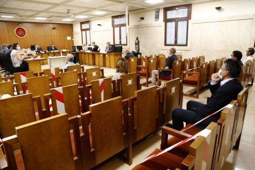 Imagen del juicio celebrado este lunes.