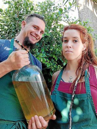 Francisco Torres y Marina Artigues en Inca.