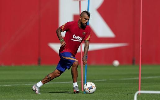 Vidal ha jugado en el club catalán desde 2018, y antes en grandes de Europa, como Juventus y Bayern de Múnic.