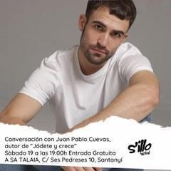 Juan Pablo Cuevas participa en las jornadas socioculturales del Festival s'Illo de sa Talaia.