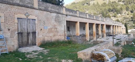 El refugio estará ubicado en el edificio de las antiguas pocilgas.