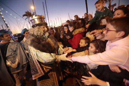 Imagen de la Cabalgata de los Reyes Magos en Palma el pasado mes de enero.
