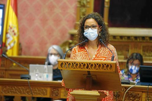 La presidenta del Consell de Mallorca, Catalina Cladera.